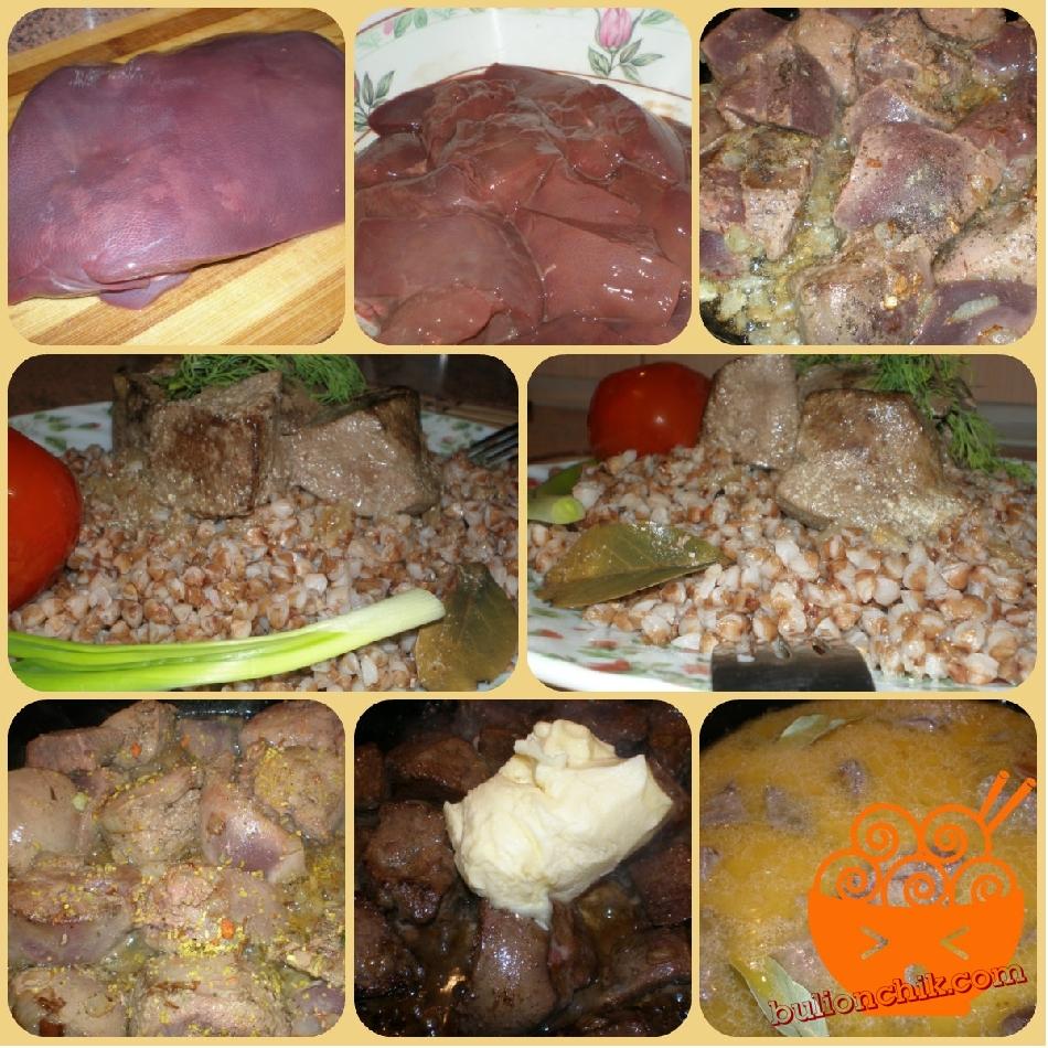 Как приготовить печень в сливочном соусе?