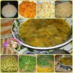 Как приготовить простой суп с макаронами?