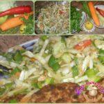 Как быстро насытить свой организм витаминами простым овощным салатом