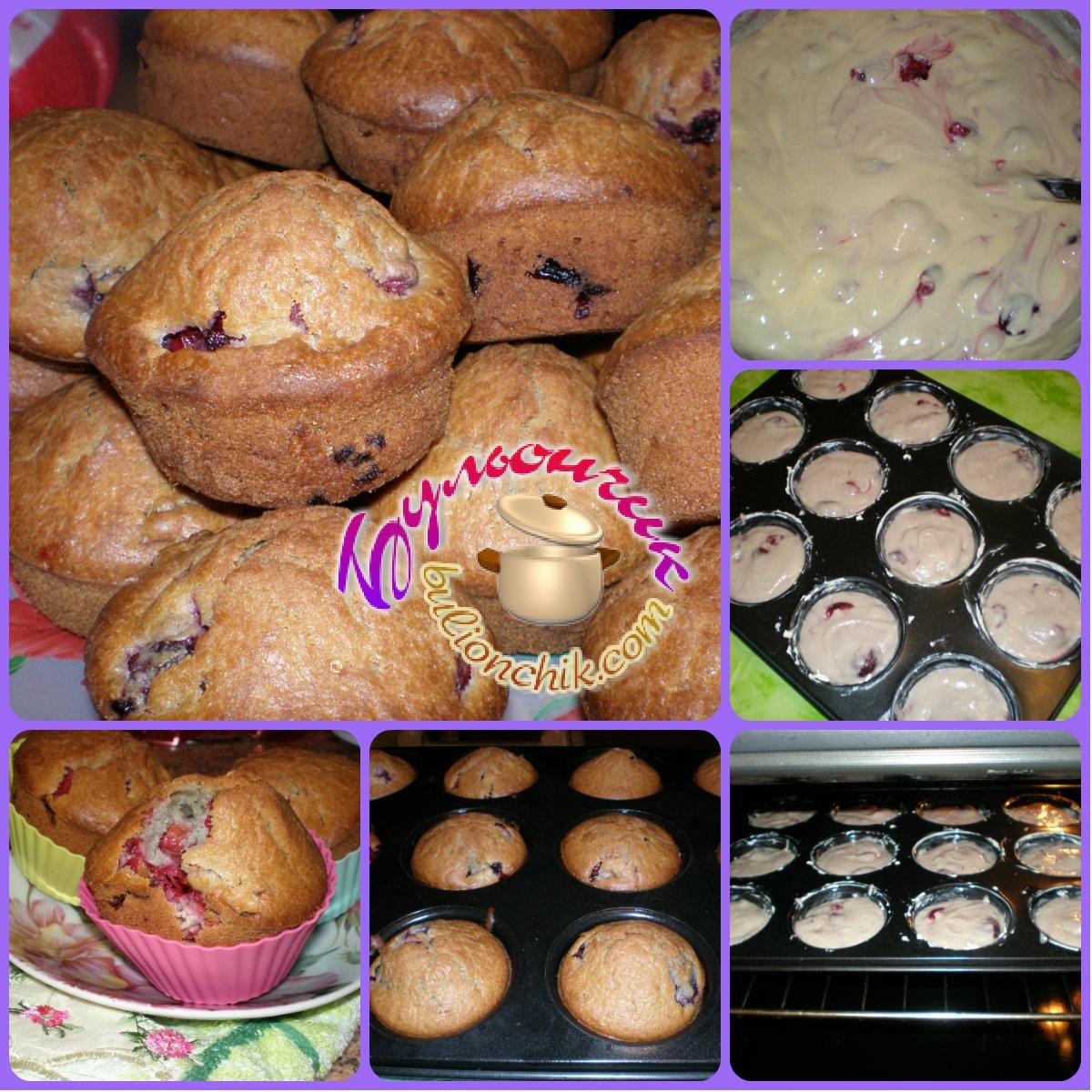 Как делать кексы в домашних 65